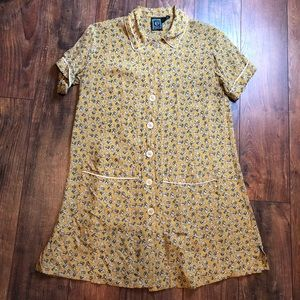 Ecote for UO 90's inspired shirt dress size small